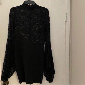 Fashion Nova Black Lace Dress